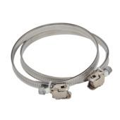 Collier de serrage 50-165mm IVC Air aluminium 2 pièces