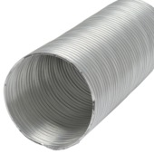 IVC Air flexibele buis dia 100mm 3m aluminium/pvc