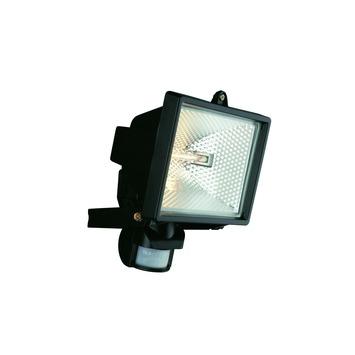 Projecteur avec détecteur de mouvement Faro Massive ampoule halogène R7S 240W 4500 lumens noir