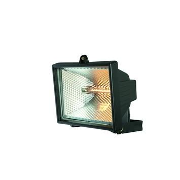 Massive straler Faro met eco halogeenlamp R7S 240W 4500 lumen zwart