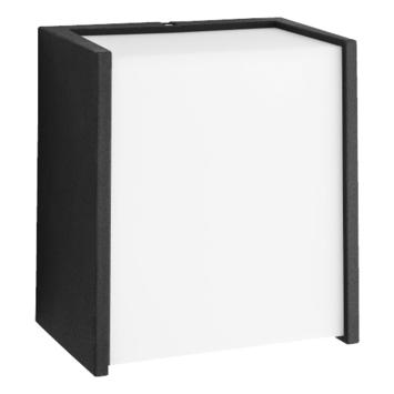 Applique extérieure Macaw Philips LED intégrée 3W 270 lumens noir
