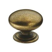 Bouton de meuble Hilde 33 mm bronzé