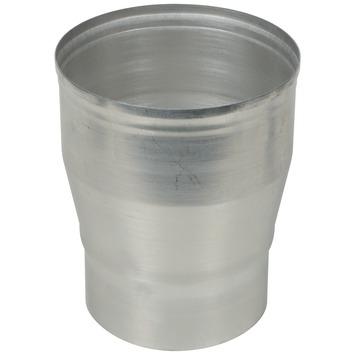 Burgerhout verloopstuk aluminium 110x130 mm