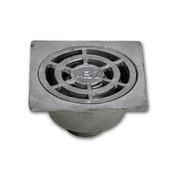 Syphon de cour à cloche aluminium 25x25 cm