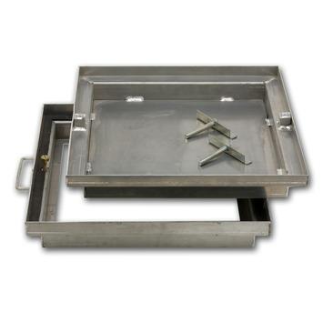 Regard à Carreler Aluminium Dim Ext 49x49 Cm