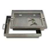 Regard à carreler aluminium dim. ext. 99x99 cm
