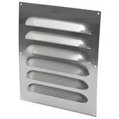 Grille d'aération IVC Air aluminium 250x300 mm brut