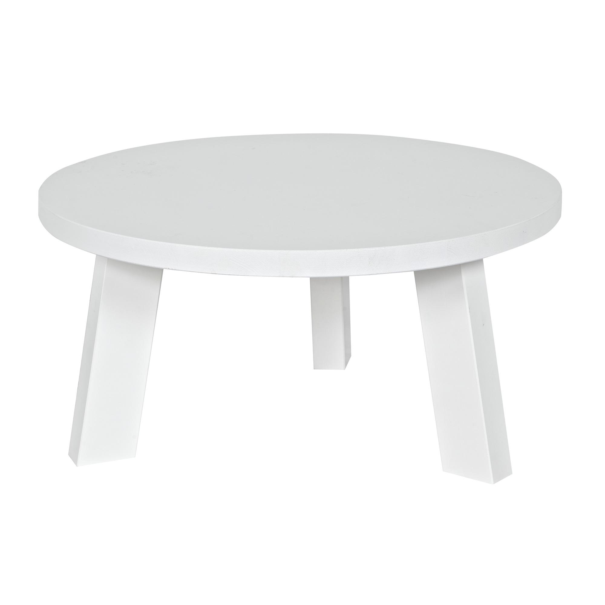 WOOOD salontafel Rhonda 60x60x30 cm grenen wit gelakt   Eettafels   Tafels   Meubelen   GAMMA be