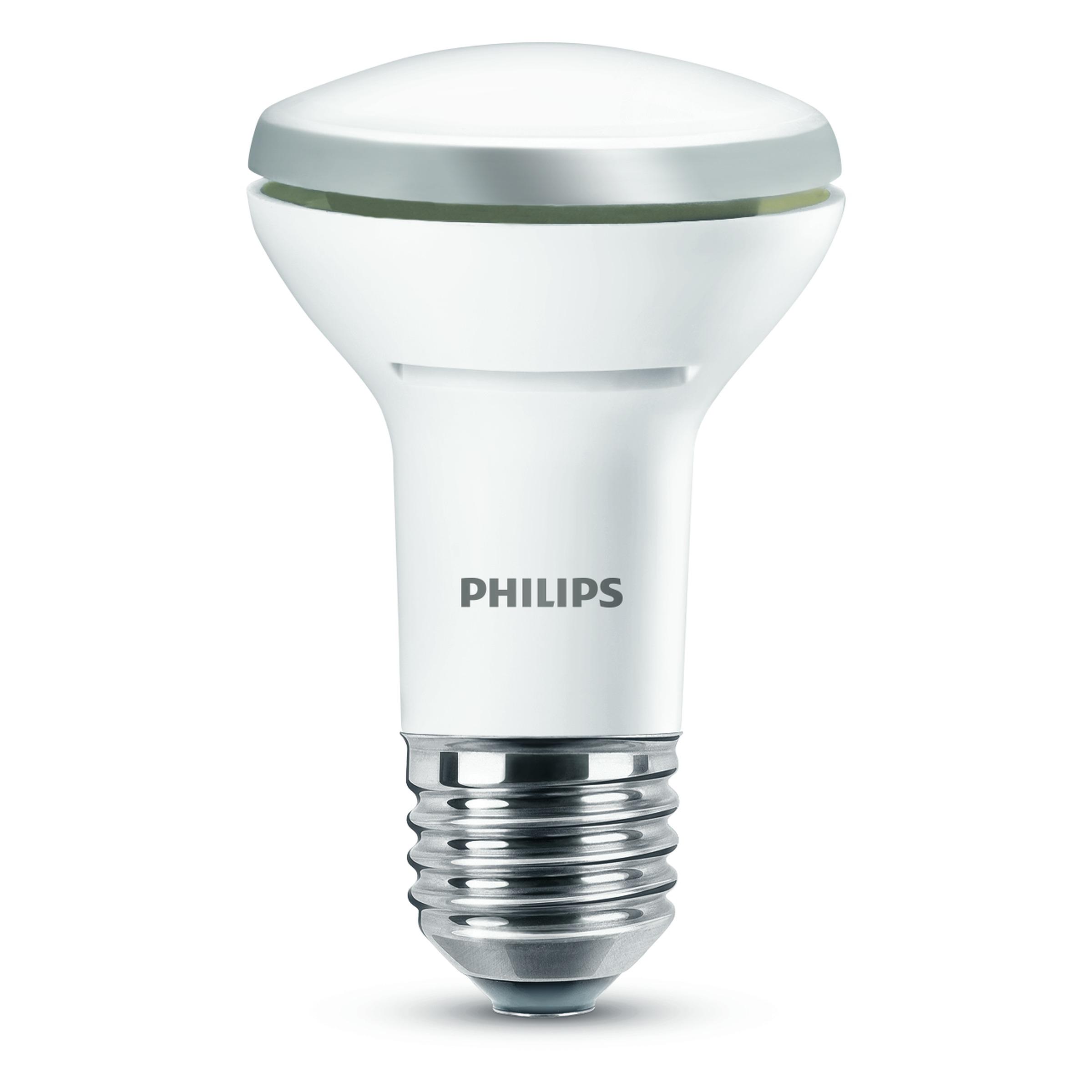 Philips led reflectorlamp e27 345 lumen 5 7w 60w dimbaar for Lampen philips