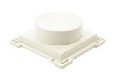 Bouton rotatif pour variateur halogène Niko blanc