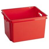 Allibert Crownest opbergbox rood 30 l