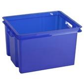 Boîte de rangement Allibert Crownest bleue 30 litres