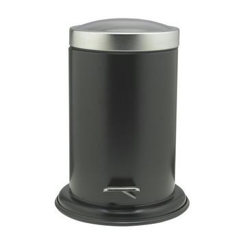 Sealskin Acero pedaalemmer zwart 3 liter