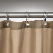 Rideau de douche Savon de Provence Sealskin polyester 180x200 cm