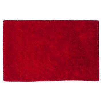 Sealskin Doux badmat microfiber rood 50 x 80 cm