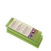 NOC (Natural oil care) pads 11,5x25  cm 3 stuks