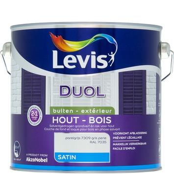 Levis Duol 2 in 1 zijdeglans parelgrijs 2,5 L