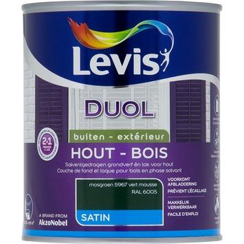 Levis Duol 2 in 1 zijdeglans mosgroen 750 ml