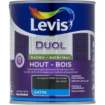 Levis Duol 2 in 1 zijdeglans bronsgroen 750 ml