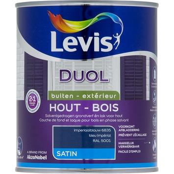 Levis Duol 2 in 1 zijdeglans imperiaalblauw 750 ml