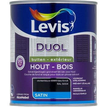 Levis Duol 2 in 1 zijdeglans donkerblauw 750 ml