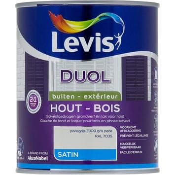 Levis Duol 2 in 1 zijdeglans parelgrijs 750 ml