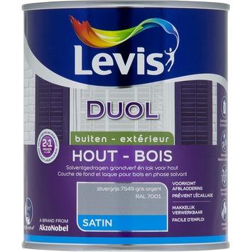 Levis Duol 2 in 1 zijdeglans zilvergrijs 750 ml