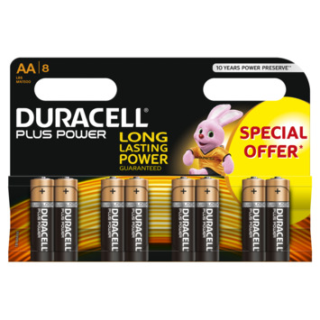 Pile Duracell Plus Power AA 8 pack