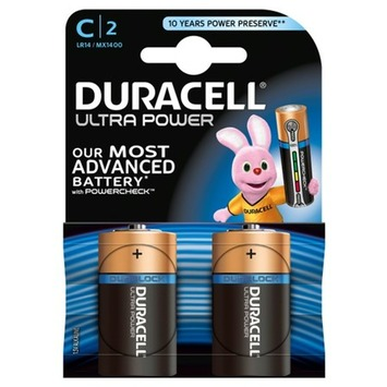 Duracell Ultra Power batterijen C 2 stuks