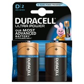 Duracell Ultra Power batterijen D 2 stuks