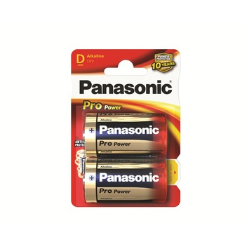 Panasonic Pro Power batterijen D 2 stuks