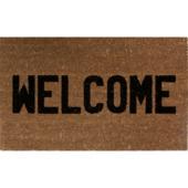 Tapis-brosse Welcome coco 45 cm x 76 cm