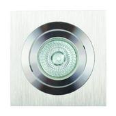 GAMMA inbouwspot eco vierkant richtbaar aluminium 1x42 W dimbaar