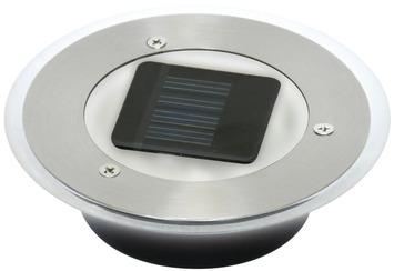 spot enterrer solaire ranex ciro rond 1x0 06w. Black Bedroom Furniture Sets. Home Design Ideas