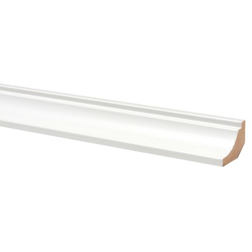 Hollat houtnerf wit 260 cm