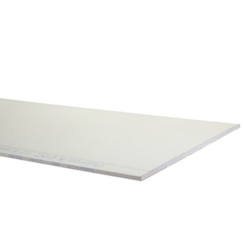 Plaque de plâtre Gyproc 12,5 mm 260x60 cm