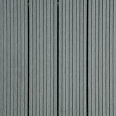 Dalle de jardin composite 6 pièces gris clair 31x31 cm