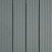 Tuintegel HKC Kunststof 31x31 cm lichtgrijs 6 stuks