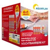 Barrière étanche Aquaplan – cartouche de gel à injecter kit 4+1
