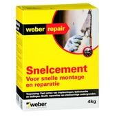 Weber snelcement 4 kg