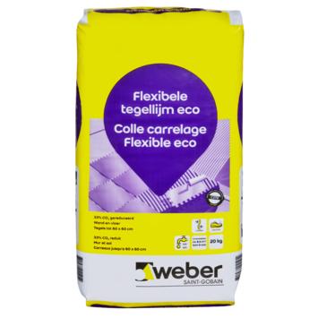 Colle Pour Carrelage Tile Flex Weber 20 Kg Gris