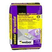 Colle pour carrelage Tile Special Weber 20 kg blanc