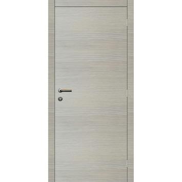 Binnendeurblad Senza horizontaal eik wit 201,5x78 cm