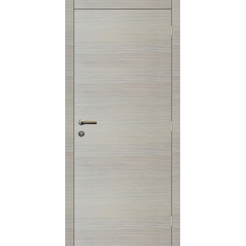 Binnendeurblad Senza horizontaal eik wit 201,5x83 cm