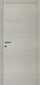 Panneau de porte intérieure Senza stratifié horizontal 201,5x83 cm chêne blanc