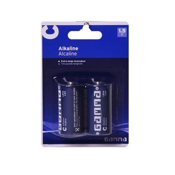 GAMMA alkaline batterijen C 2 stuks