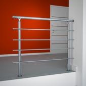 Sogem Rondo Primo borstwering 120 cm aluminium