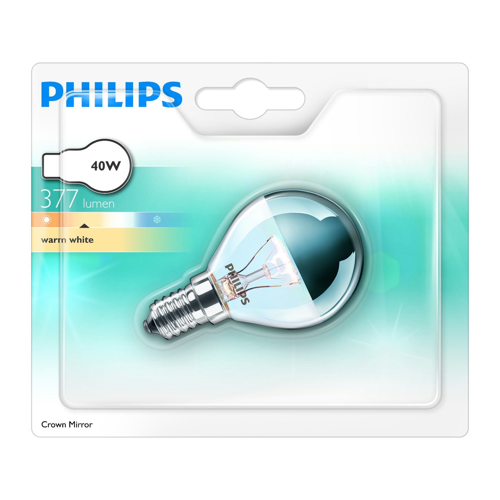 Ampoule coupole argent e philips e14 40w 377lm toutes - Ampoule e14 40w ...