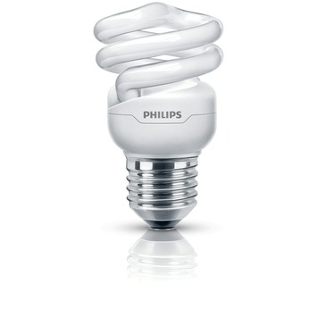 Ampoule spirale CFLi Philips Tornado E27 505 Lm 8W = 45W