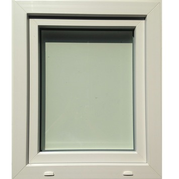 Fenêtre tombante en PVC éco SP0406 H48xL66 cm U=1,1
